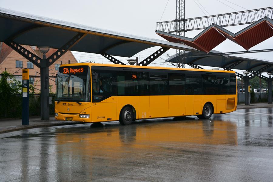 Arriva 1719/BF88654 ved Slagelse Station den 25. juli 2017