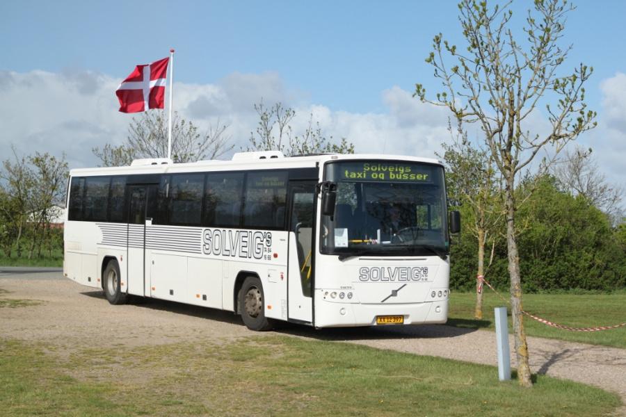 Solveigs Taxi og Busser XX12397 ved Ribe Vikinge Center syd for Ribe den 3. maj 2019