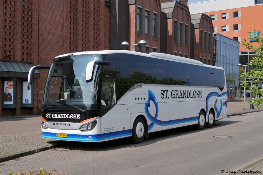 St. Grandløse Busser BC48240 ved ZOB i Flensburg den 29. april 2019