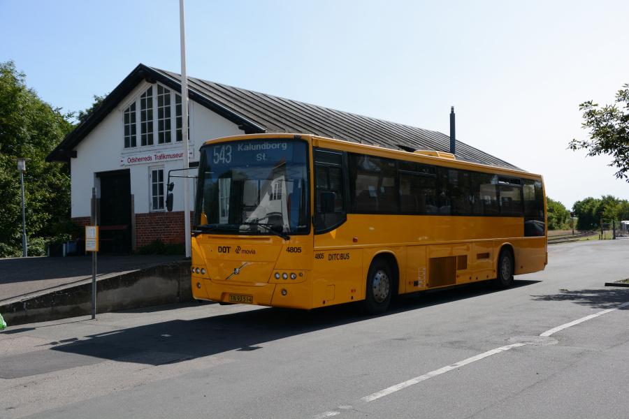 Ditobus 4805/TN93514 i Hørve den 23. august 2017