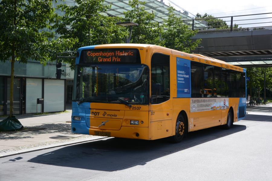 Keolis 2537/SR93088 på Flintholm Station den 6. august 2017
