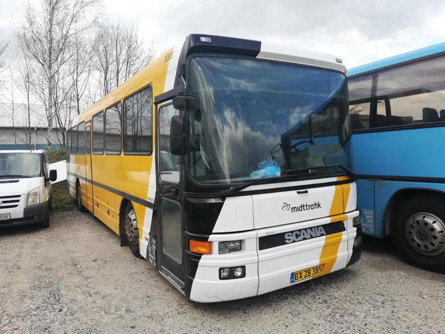 Terndrup Turistbusser BX28385 i Viborg den 16. april 2019