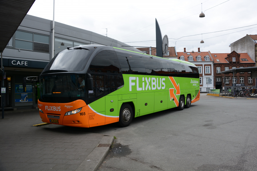Abildskou 165/AG88868 på Århus Rutebilstation den 29. juli 2017