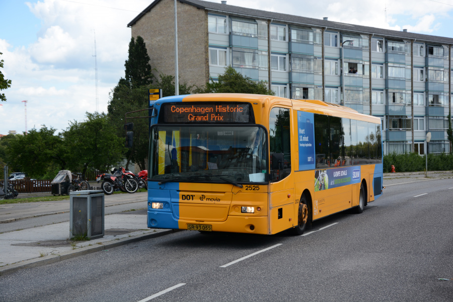 Keolis 2525/SR93035 ved Bellahøj den 6. august 2017