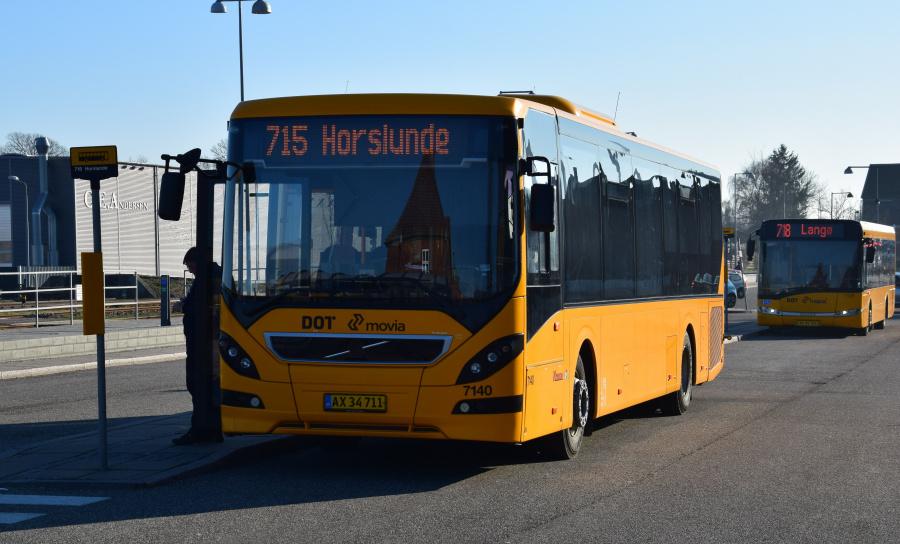 Kruse 7140/AX34711 på Nakskov Station den 27. februar 2019