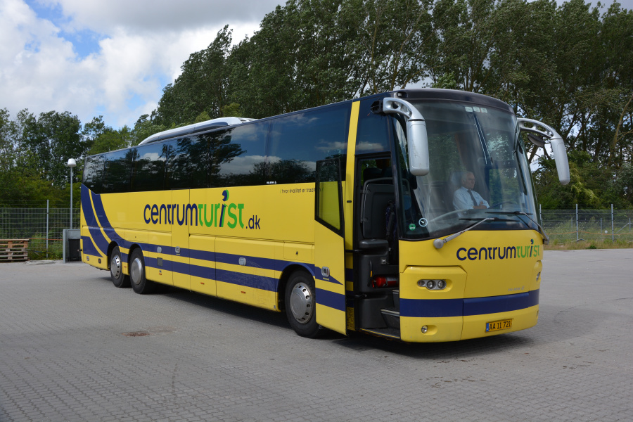 Centrum Turist AA11721 i Århus den 29. juli 2017