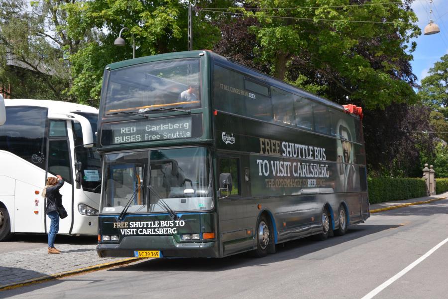 Red Blue Bus Tours 1207/AC39349 på Gamle Carlsberg Vej i Valby den 21. juni 2017