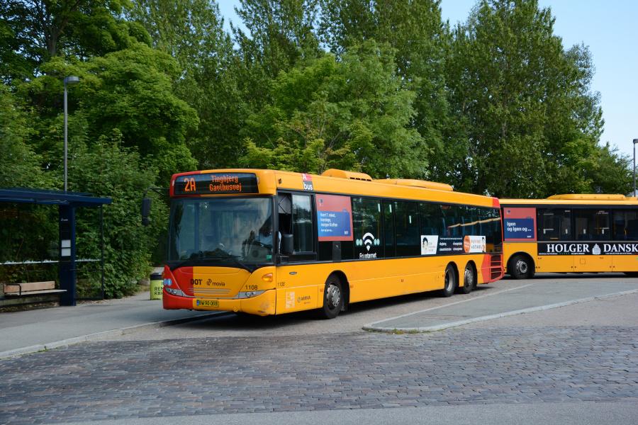 Arriva 1108/BW90008 i Tingbjerg den 19. juli 2017