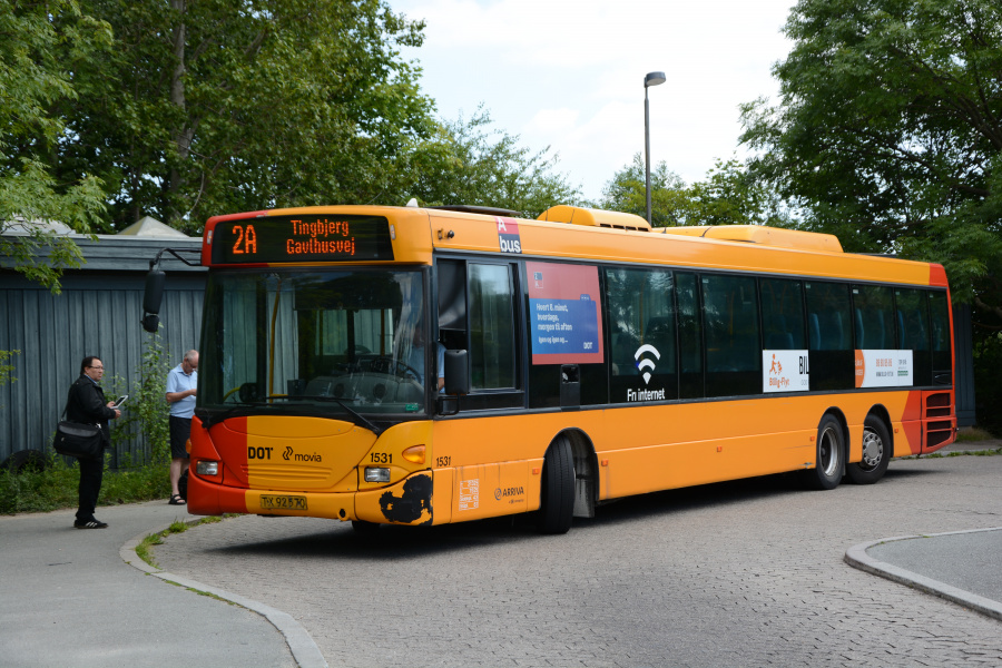 Arriva 1531/TX92570 i Tingbjerg den 19. juli 2017