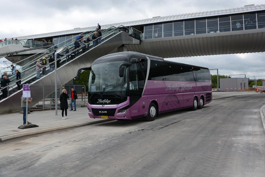 Herfølge Turistfart CK25475 ved Køge Nord Station den 31. maj 2019