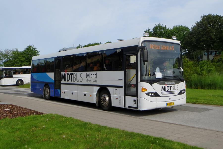 Midtbus Jylland 115/BL81810 i Gistrup den 31. maj 2019