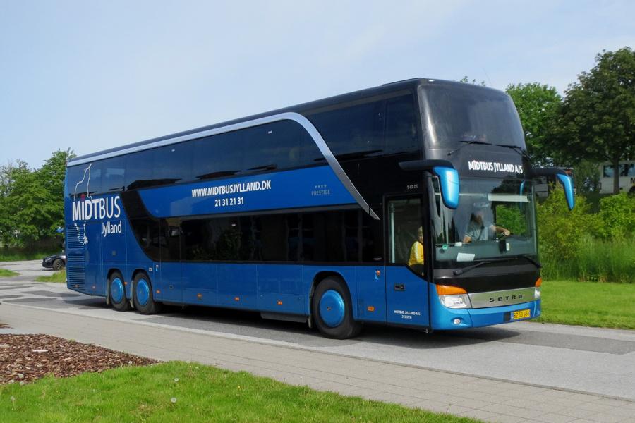 Midtbus Jylland 135/BZ13366 i Gistrup den 31. maj 2019