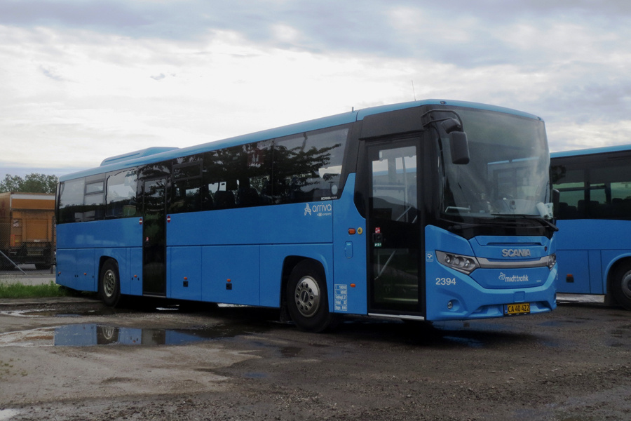 Arriva 2394/CA40422 i Randers den 3. juni 2019