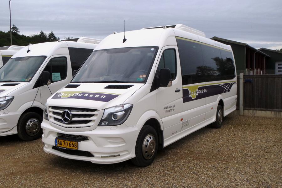 Ans Bussen 12/AW70668 i Ans den 3. juni 2019