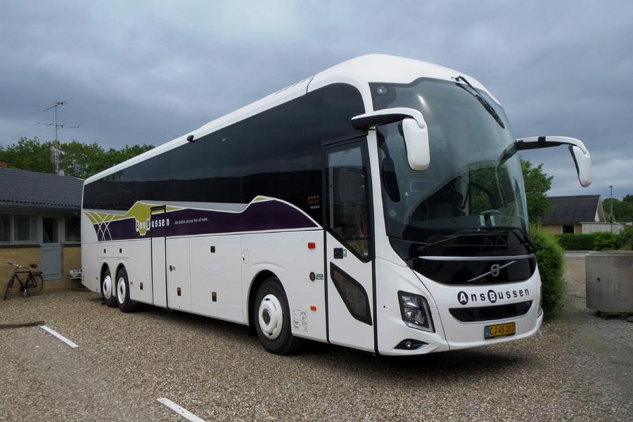 Ans Bussen 34/CJ45203 i Ans den 3. juni 2019