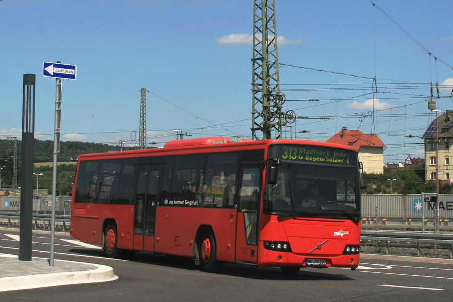 Verkehrsgesellschaft Mittelhessen HG-AB239 i Bebra i Tyskland den 5. august 2015