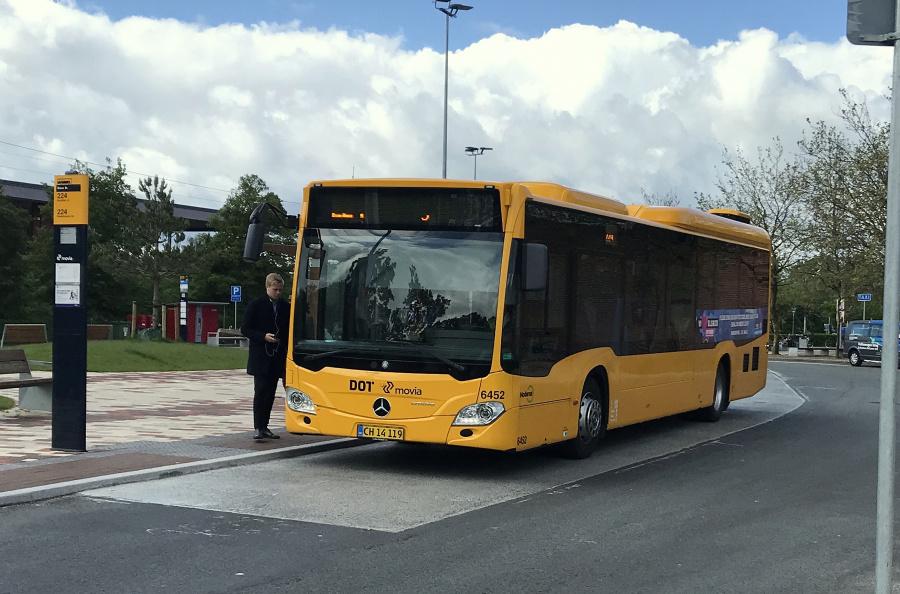 Nobina 6452/CH14119 på Greve Station den 27. maj 2019
