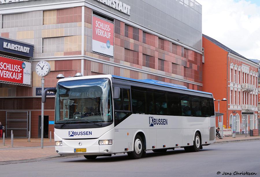 JK-Bussen BN48335 ved ZOB i Flensburg i Tyskland den 3. juli 2019