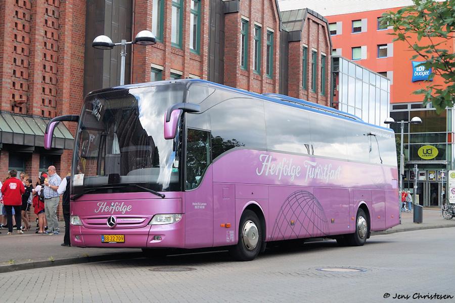 Herfølge Turistfart BB22709 ved ZOB i Flensburg i Tyskland den 3. juli 2019