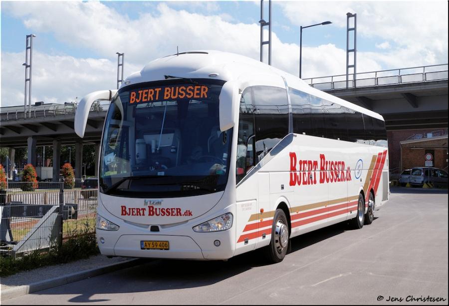 Bjert Busser AY59406 ved Interims ZOB i Kiel i Tyskland den 22. juni 2019