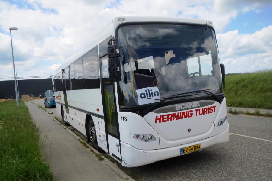 Brande Buslinier 118/BV54804 i Århus den 9. juni 2019