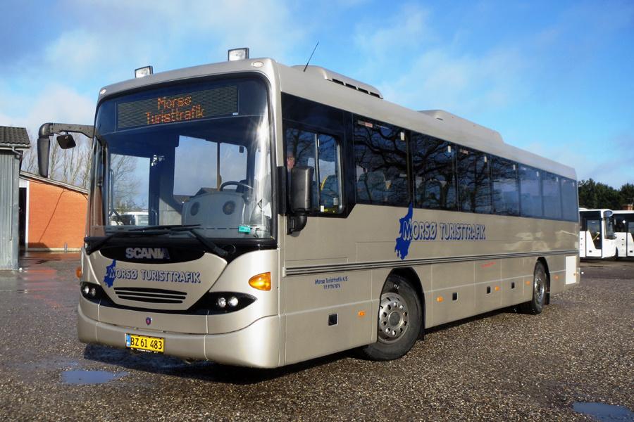 Morsø Turisttrafik BZ61483 i Nykøbing Mors den 19. februar 2019