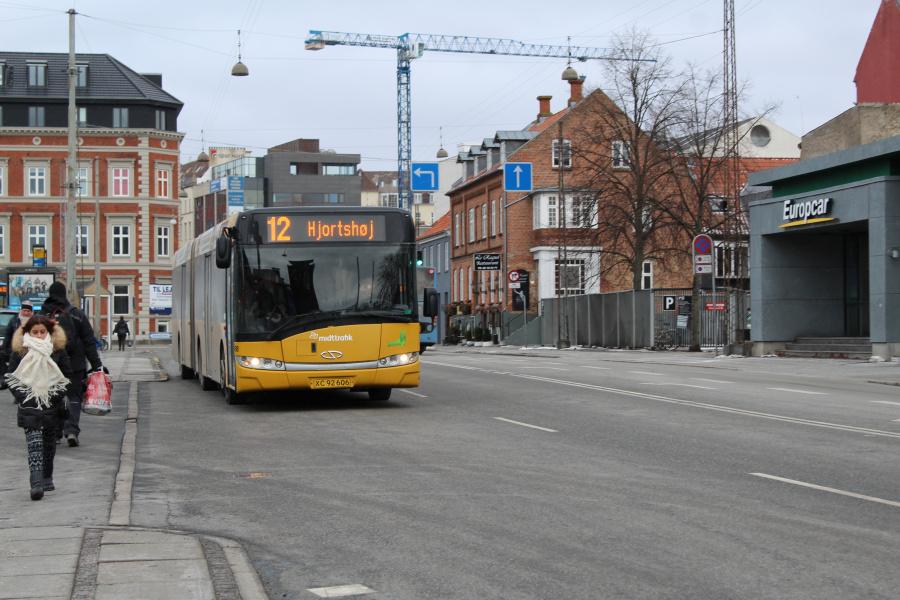 Århus Sporveje 488/XC92606 ved Århus Rutebilstation den 2. marts 2018