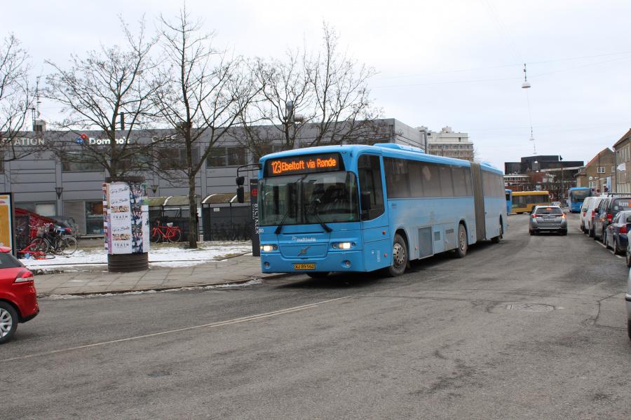 Arriva 2960/XJ89562 på Århus rutebilstation den 2. marts 2018