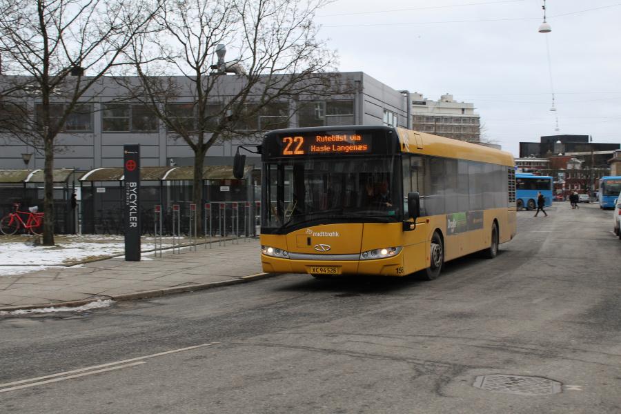 Århus Sporveje 482/XC94528 ved Århus Rutebilstation den 2. marts 2018