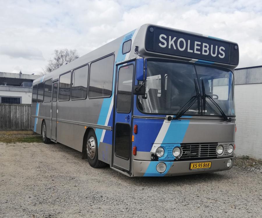 Terndrup Turistbusser XS95868 i Hammershøj den 16. april 2019