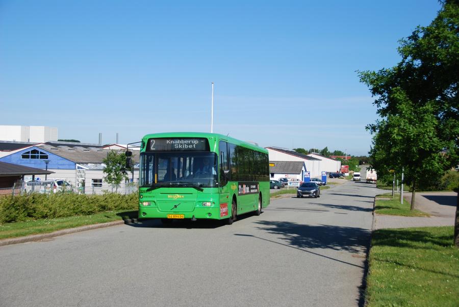 Arriva 3269/SJ89634 på Karetmagervej i Vejle den 16. juni 2010