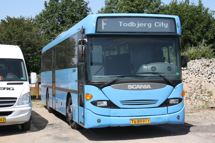 Todbjerg Busser TU89973 på Egå Møllevej nær Egå den 29. juni 2019