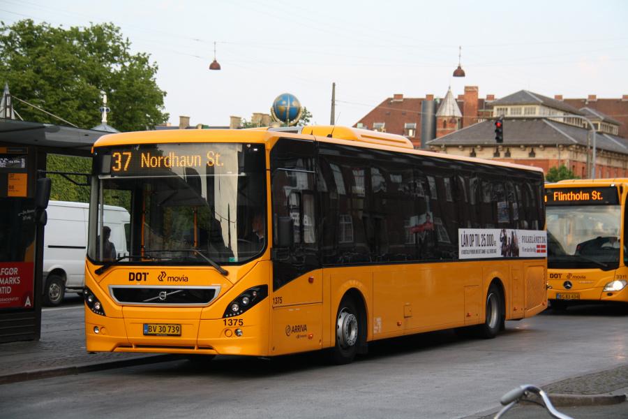 Arriva 1375/BV30739 ved Københavns Hovedbanegård den 2. juni 2019