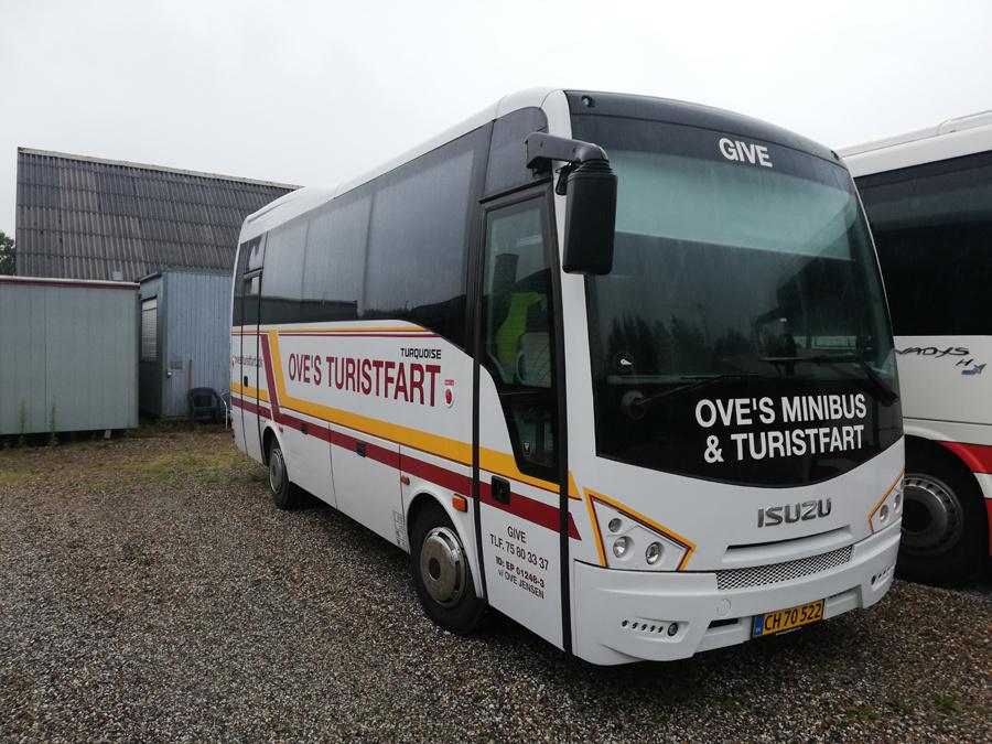 Oves Turistfart CH70522 i Give den 11. juli 2019