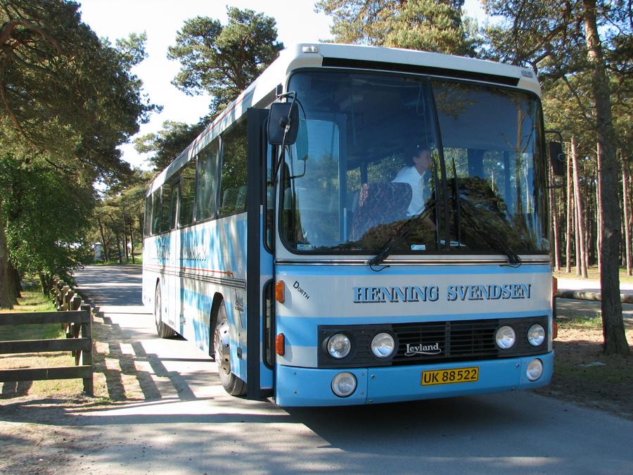 Aakirkeby Turist- og Selskabskørsel UK88522 et sted på Bornholm i 2006