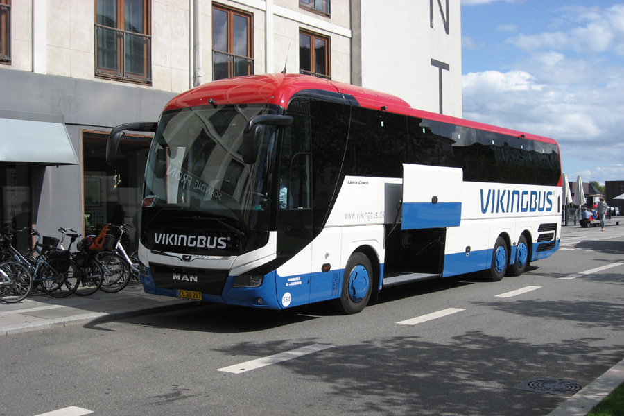Vikingbus 554/CL20217 på Sct. Annæ Plads i København den 21. august 2019