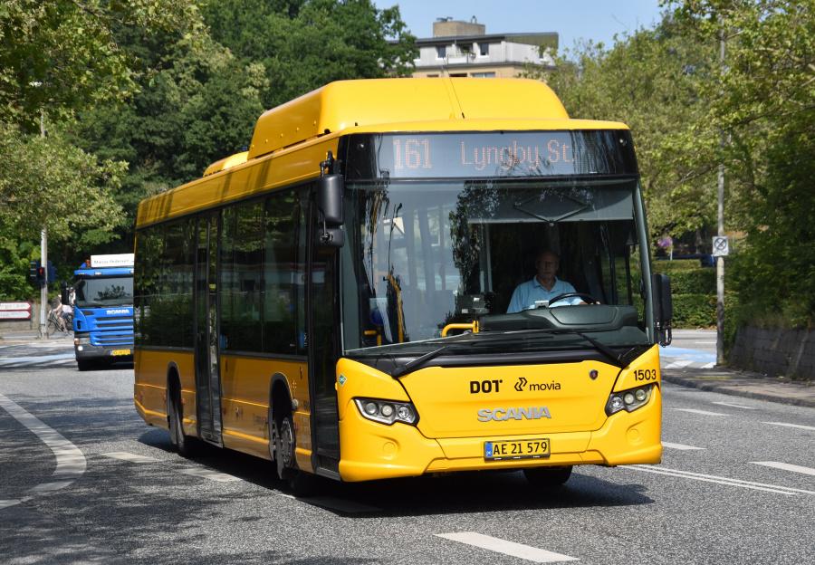 Arriva 1503/AE21579 ved Lyngby St. den 29. juli 2019