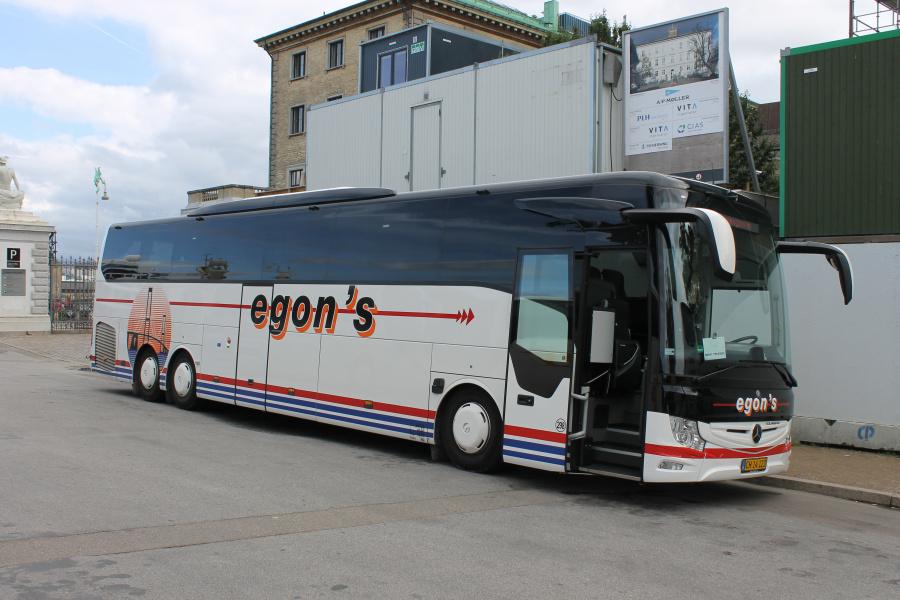 Egons Turist- og Minibusser 298/CH14123 ved Langelinie i København den 16. august 2019