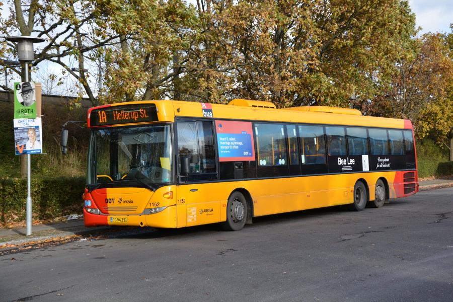 Arriva 1152/CG94351 ved Avedøre St. den 11. november 2017
