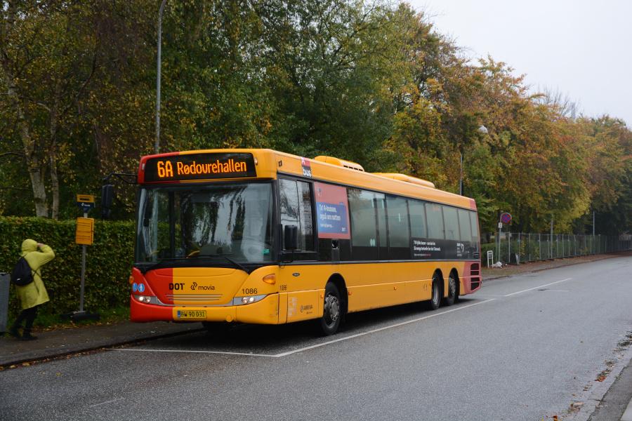 Arriva 1086/BW90031 ved Buddinge St. den 21. oktober 2017