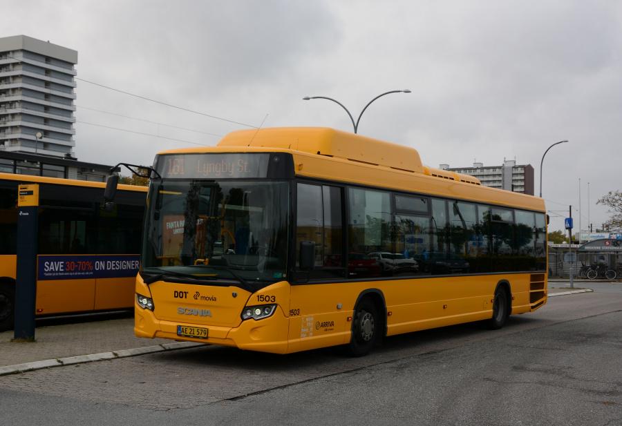 Arriva 1503/AE21579 ved Rødovre St. den 17. oktober 2017