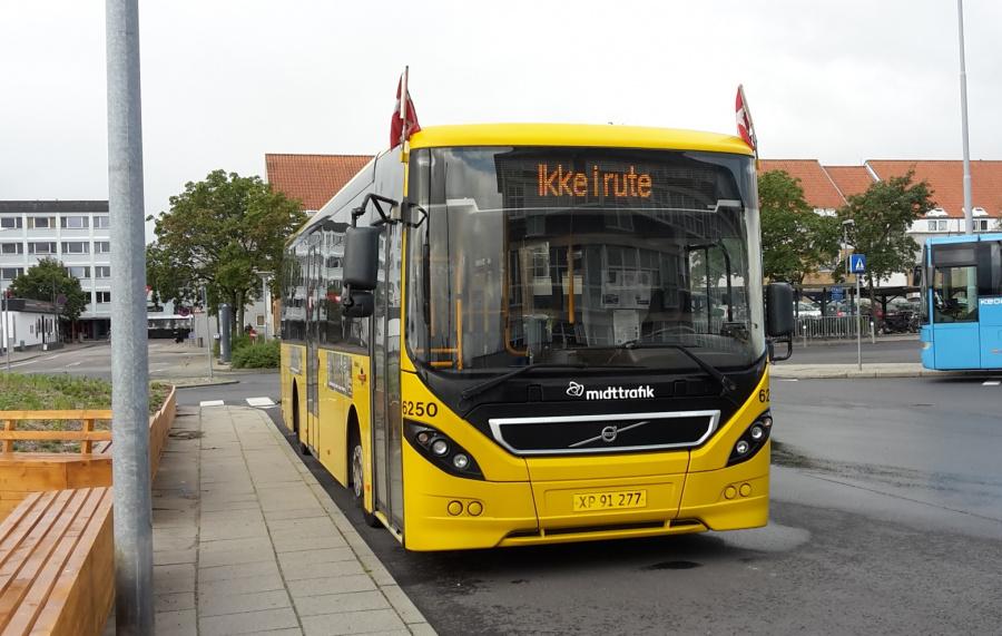 Nobina 6250/XP91277 på Randers Busterminal den 16. august 2019
