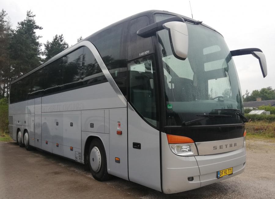 Grund Turistbusser DF91771 i Grund den 20. juli 2019