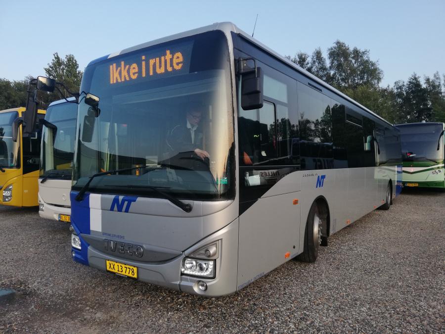 Faarup Rute- og Turistbusser 72/XX13778 i Faarup den 13. august 2019