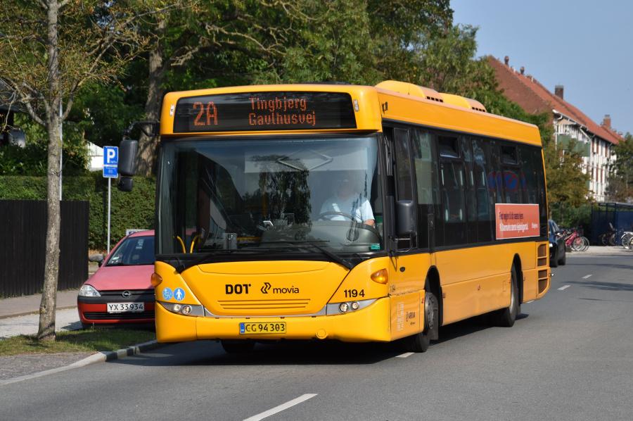 Arriva 1194/CG94303 på Alléen i Kastrup den 27. august 2019