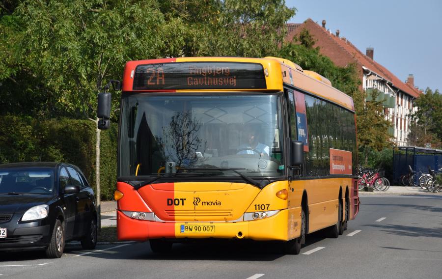 Arriva 1107/BW90007 på Alléen i Kastrup den 27. august 2019
