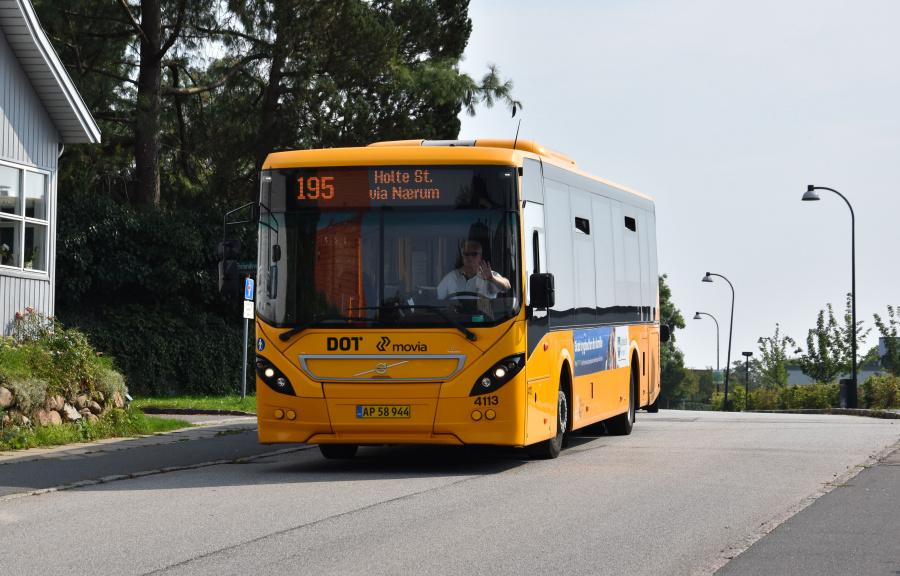 De Blaa Omnibusser 4113/AP58944 på Nærumgårdsvej i Nærum den 28. august 2019