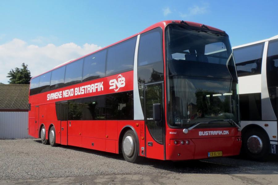 Svaneke-Nexø Bustrafik CB81565 i Nexø den 21. juli 2019