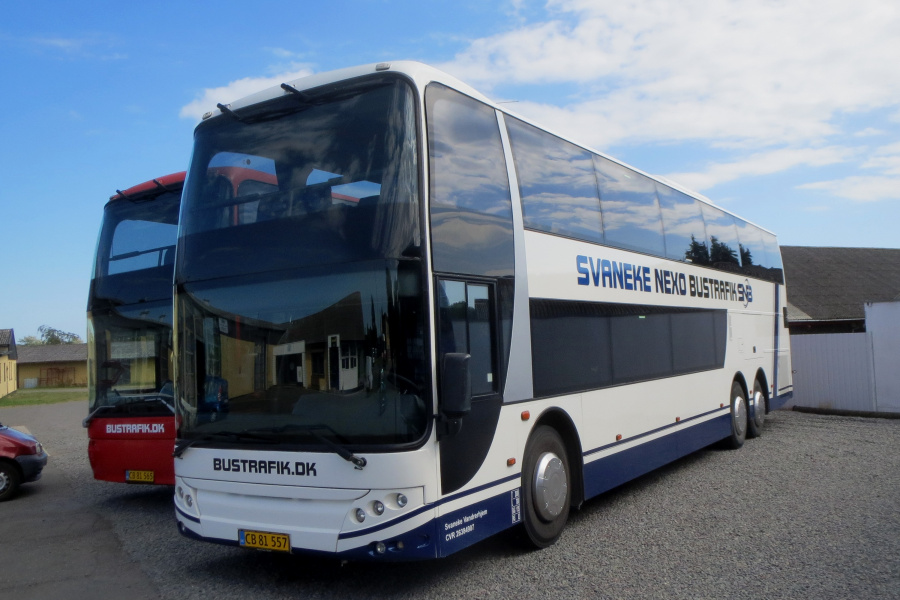 Svaneke-Nexø Bustrafik CB81557 i Nexø den 18. juli 2019