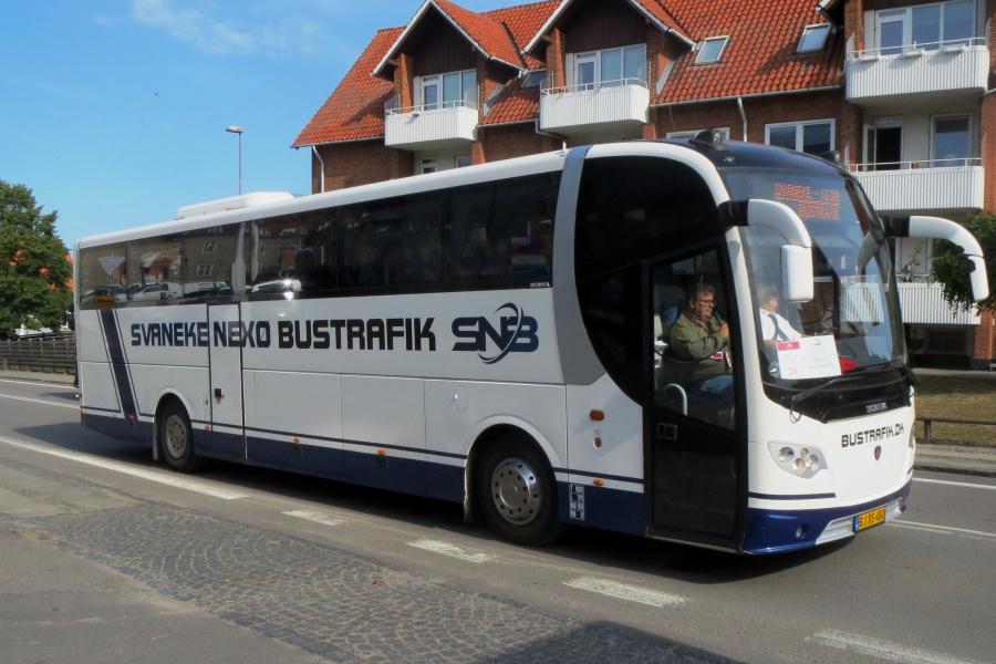 Svaneke-Nexø Bustrafik BJ85480 i Rønne den 19. juli 2019